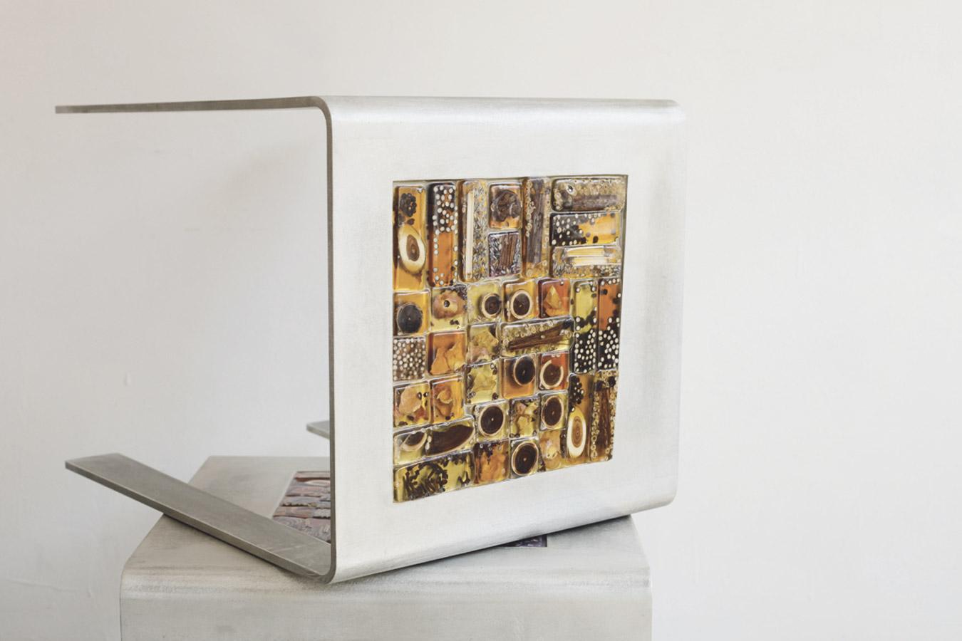 Design Luciana Lavelli, tavolini, seduta